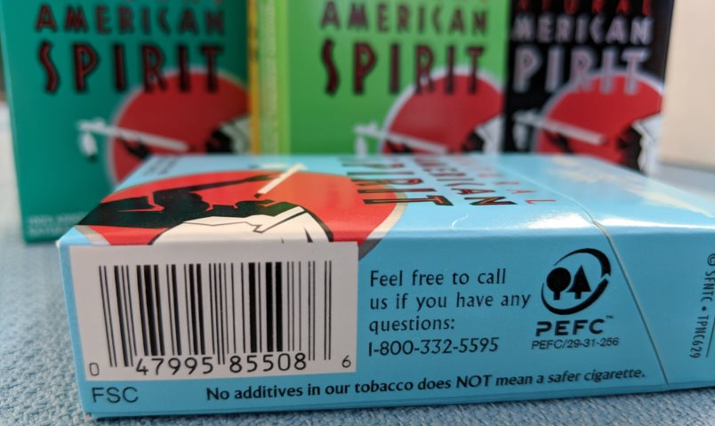 Почему сигареты с настоящим табаком кажутся более безопасными?